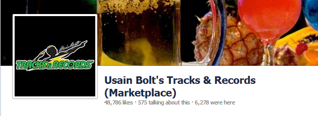 Usain Bolt s Tracks   Records  Marketplace